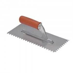 Frattone americano con manico gomma dente quadro (3mm) 183Q3G Raimondi