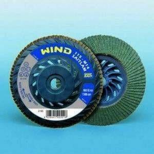 Disco lamellare abrasivo Wind Zirconio 115mm Saitlam Sait