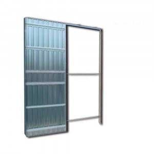 Controtelaio per porte scorrevoli anta unica per cartongesso da 100 mm Doortech by Scrigno
