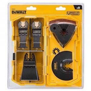 Set da 8 pezzi per tagliare e levigare DT20731 DeWalt