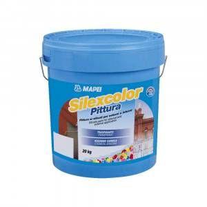 Silexcolor Pittura Mapei pittura ad alta traspirabilità 20 Kg