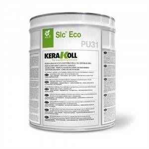 Resina organica eco-compatibile impermeabilizzante per fondi 10Lt Slc Eco PU31 Kerakoll