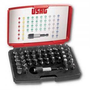 Assortimento di inserti per avvitatura 49 pezzi 692J49 U06920041 Usag