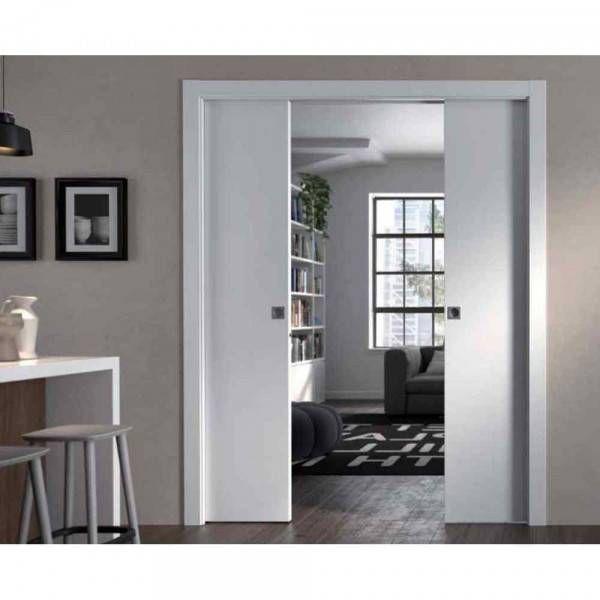Controtelaio anta doppia per muro spessore 125mm doortech for Porte scorrevoli doortech