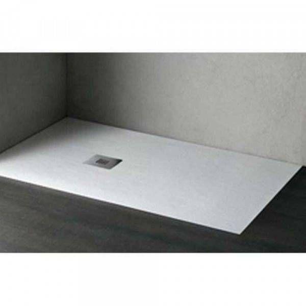 foto de Piatto doccia bianco effetto pietra Stone Agha