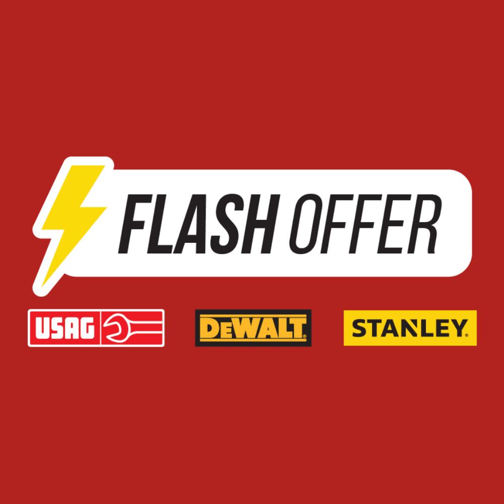 >Flashoffer DeWalt - Usag - stanley
